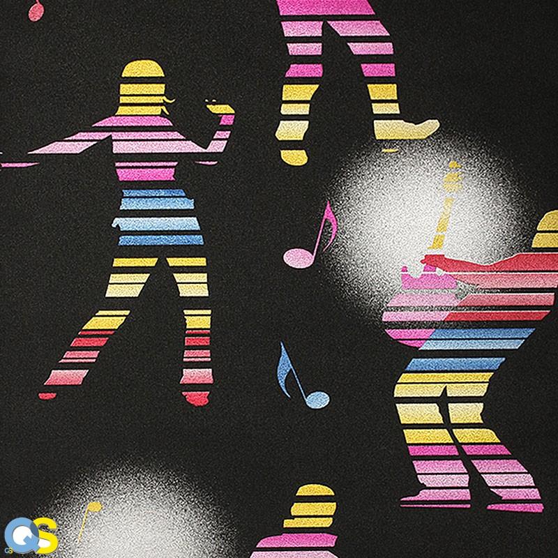 Giấy dán tường Karaoke